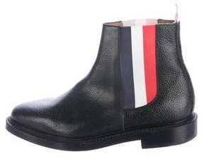 Thom Browne Leather Chelsea Boots
