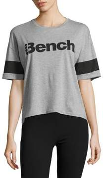 Bench Cropped Cotton Tee