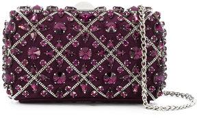 Rodo crystal embellished clutch