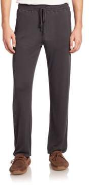 Hanro Lorenzo Solid Ribbed Long Pants