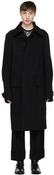 Ann Demeulemeester Black Fundamental Coat