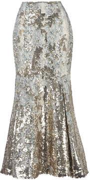 Emilia Wickstead Leroy Sequin Embroidered Skirt