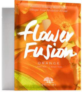 Origins Flower Fusion Orange Radiance-Boosting Sheet Mask