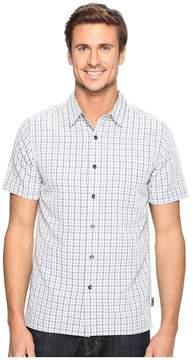 Royal Robbins Mojave Pucker Plaid Short Sleeve Men's Short Sleeve Button Up