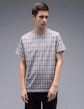 Carven Video Game Print S/S T-Shirt