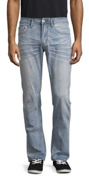 Buffalo David Bitton Faded Straight-Fit Jeans