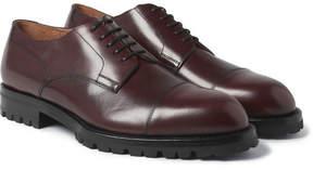 Dries Van Noten Cap-Toe Leather Derby Shoes