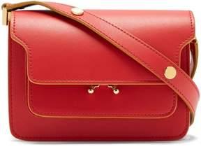 Marni Trunk Mini Leather Cross Body Bag - Womens - Red Multi