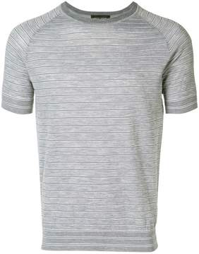 Roberto Collina striped knitted T-shirt