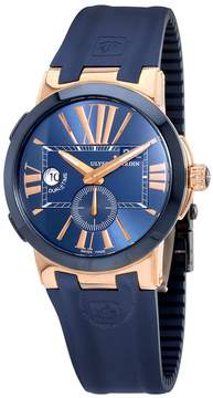 Ulysse Nardin Executive Dual Time Blue Dial Automatic Men's Watch