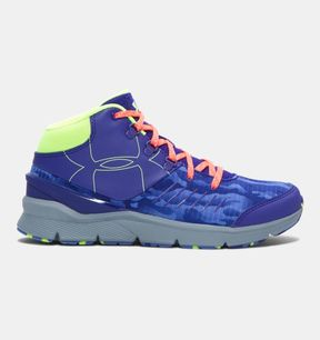 Under Armour Girls' UA Overdrive Mid Grit Shoes