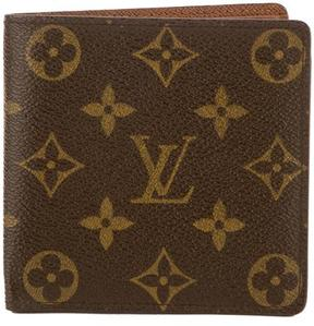 Louis Vuitton Monogram Canvas Marco Wallet - BROWN - STYLE