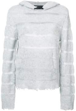 RtA cashmere hoodie