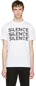 McQ White Silence T-Shirt