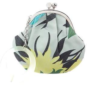 Emilio Pucci Leaf Print Handle Bag