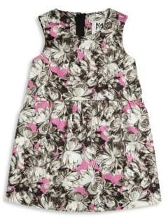 Milly Minis Toddler's& Little Girl's Peony Printed Ari Dress