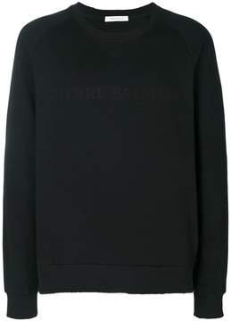 Pierre Balmain crew neck sweater