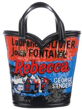 Olympia Le-Tan Mini Beaded Rebecca Bag