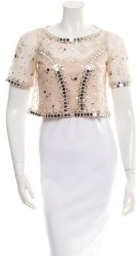 ALICE by Temperley Klementina Embellished Top w/ Tags