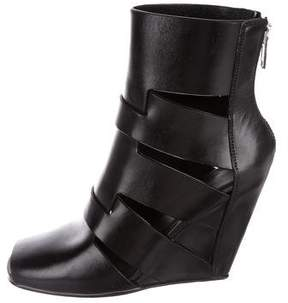 Rick Owens Lazarus Wedge Boots