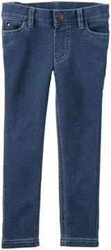 Carter's Girls Knit Pant, Denim