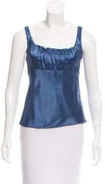 Tahari Sleeveless Silk Top