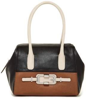 GUESS Women's Jonsi VD438709 Frame Satchel Handbag