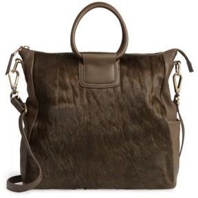 Hobo Sheila Convertible Leather Satchel - Green