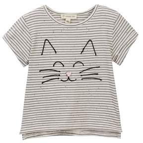 Tucker + Tate Embroidered Stripe Tee (Toddler, Little Girls, & Big Girls)