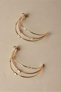 Anthropologie Saskia Hoop Earrings
