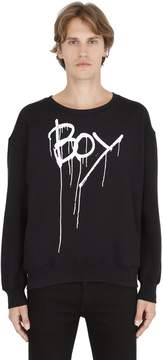 Boy London Boy Drip Printed Sweatshirt