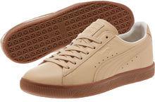 PUMA x NATUREL Veg Tan Clyde Sneakers