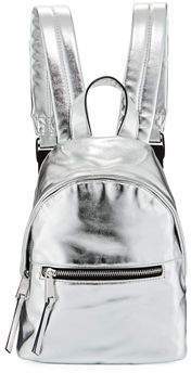 French Connection Jace Small Metallic Backpack