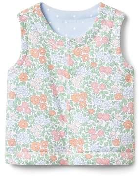 Gap Print Reversible Vest