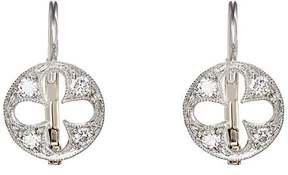 Cathy Waterman Women's Florentine Quatrefoil Earrings