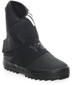 Y-3 New Snow Round Toe Boots