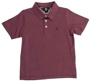 Volcom Wowzer Short Sleeve Polo (Toddler & Little Boys)
