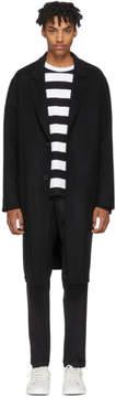 Ami Alexandre Mattiussi Black Oversized Wool Coat
