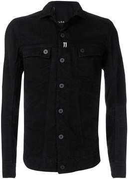 11 By Boris Bidjan Saberi buttoned up jacket