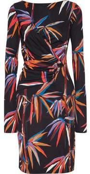 Emilio Pucci Wrap-Effect Printed Jersey Dress