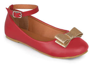 Journee Collection Red Afton Ballet Flat
