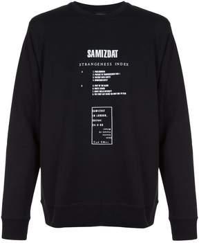 Yang Li graphic print sweatshirt