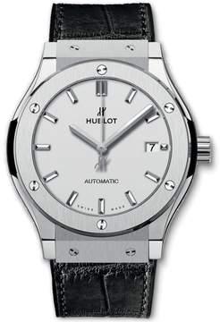 Hublot Classic Fusion 542.nx.2611.lr Titanium & Silver Dial Automatic 42mm Mens Watch