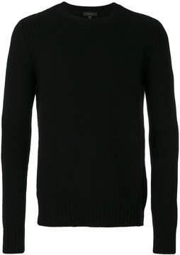 Belstaff stripe detail sweater