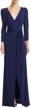 ABS by Allen Schwartz Women's Statement Sleeve Wrap Gown