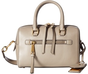 Marc Jacobs Recruit Small Bauletto Satchel Handbags - MINK - STYLE