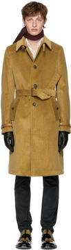 Prada Tan Corduroy Coat