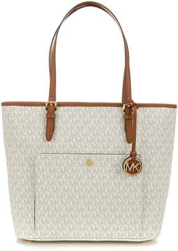 MICHAEL Michael Kors Jet Set Large Snap-Pocket Tote - VANILLA - STYLE
