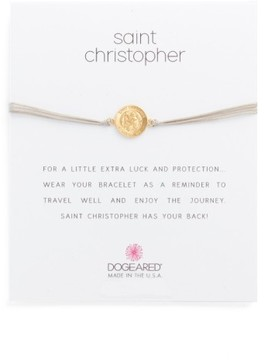 Dogeared Women's Saint Christopher Bracelet