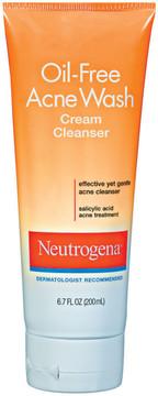 Neutrogena Oil Free Acne Wash Cream Cleanser